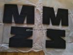 Letras Original MZ DDR NOS